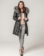 Aitādas jaka ar kapuci